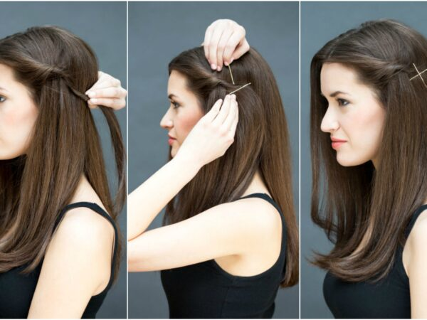 A Sexy, Simple Hairstyle to Spice up Your Blowout