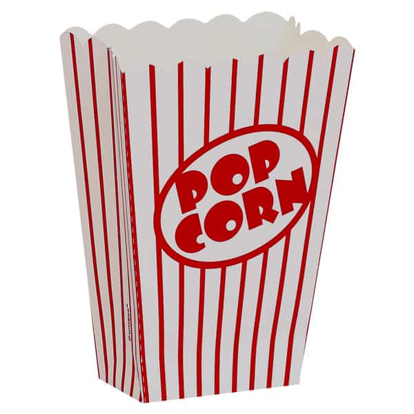 Use of Catchy Designs on Popcorn Boxes for a Successful Food Business