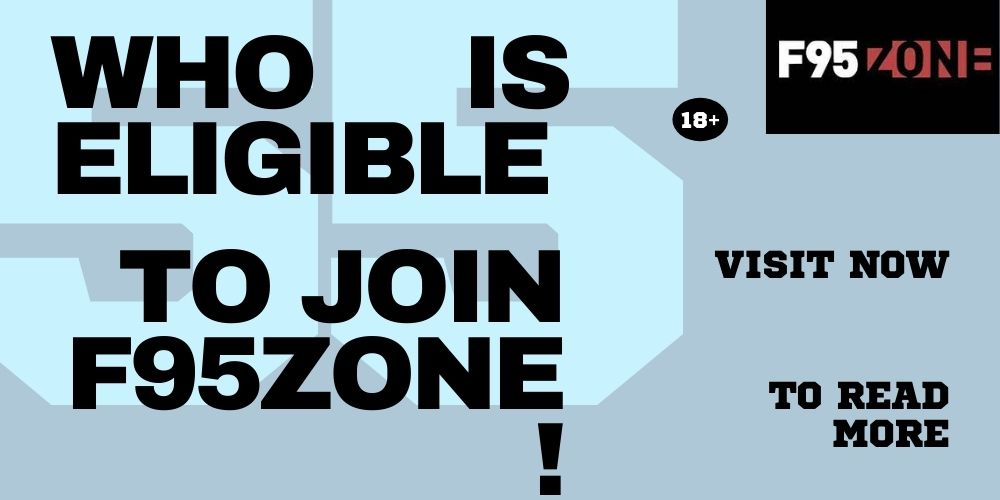 Who is Eligible to Join F95Zone?
